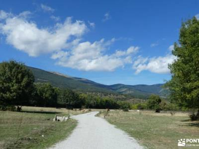 Vuelta al Senderismo-Valle Lozoya; senderismo sierra de madrid excursiones sierra madrid viajes de s